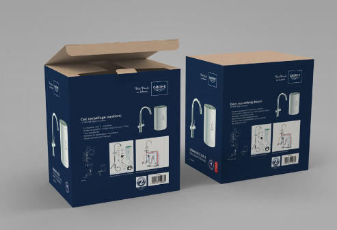 Grohe Packaging Design & Production